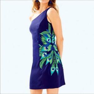 Lily Pulitzer one shoulder dress